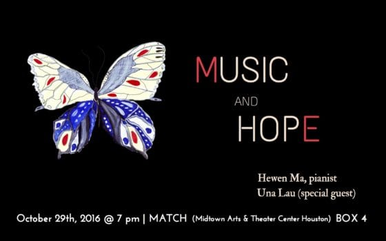 """""""Music and Hope"""" Charity Recital"""