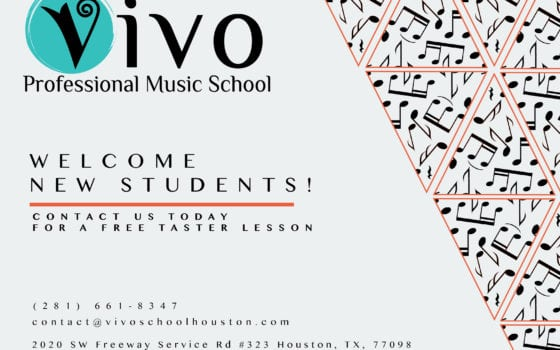 Welcome new students! Contact us today for a FREE Lesson!